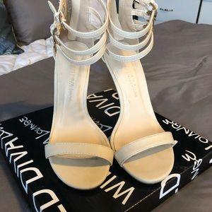 Wild Diva Lounge Strappy Heels